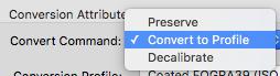 Convert to CMYK Acrobat Pro - Step 6