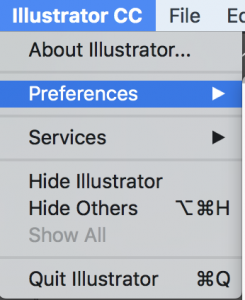 Illustrator - preferences